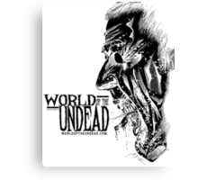 World of the Undead - Scream BoW Canvas Print