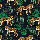 Safari Tiger Pattern by Andrea Lauren by Andrea Lauren