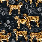 Safari Cheetah Pattern by Andrea Lauren by Andrea Lauren