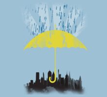 Yellow Umbrella by ZaneBerry