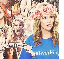 Grace Helbig Collage by blindbananas