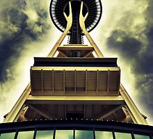 The Space Needle (Seattle) by Mona990