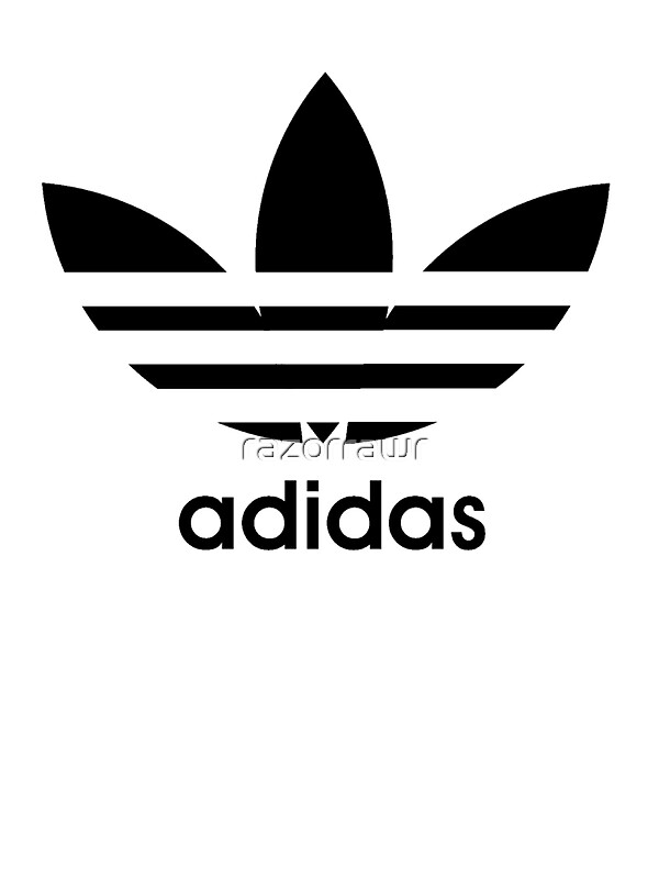 Adidas Logo Stickers Redbubble