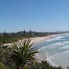 'Tweed Heads', Beach, & Pandanus. Fingal Head. NSW. North Coast. by Rita Blom