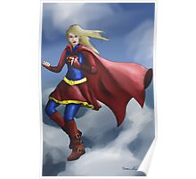 Supergirl (With Clothing) Poster