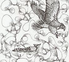 Feathers of a Bird by ZebraArmada
