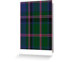 00018 Cooper/Couper Clan/Family Tartan Greeting Card