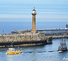 Seafaring Whitby by Lanis Rossi