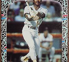 137 - Tony Bernazard by Foob's Baseball Cards