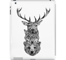 Animal Heads iPad Case/Skin