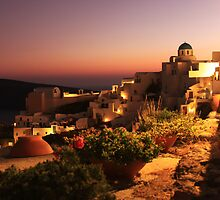 Oia Sunset by George Grimekis