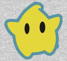 Super Mario Galaxy - Minimal Luma by SquawksShaft