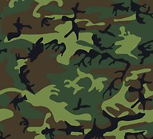 Forest Camo by TamiArtGallery