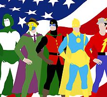 JSA Minimal 2 by TheWrightMan