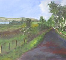 Down the road to Cardross by Madeleine  Badger