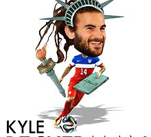 Kyle Beckerman USMNT by mijumi