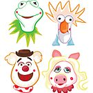 Muppets by mjdaluz