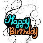 Happy Birthday Card by WesleyB