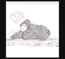 Tangled Sleepy Sheep Kids Clothes
