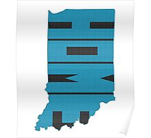 Indiana HOME state design Poster