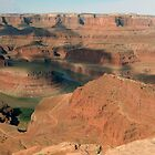 Panorama of Dead Horse Point. by philw