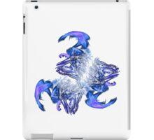 Waves in turmoil iPad Case/Skin