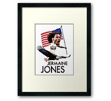 Jermaine Jones USMNT Framed Print