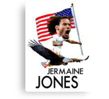 Jermaine Jones USMNT Canvas Print