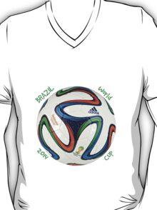 2014 FIFA World Cup Brazil match ball text T-Shirt