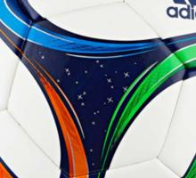 2014 FIFA World Cup Brazil match ball text Sticker