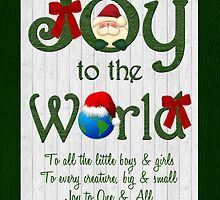 Joy to the World by Doreen Erhardt
