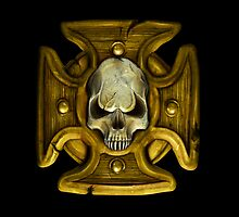 Cross and Skull Honour Badge by simonbreeze