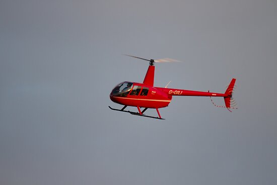 Robinson R44 Raven Helicopter by Jon Lees