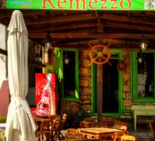 Remezzo's Restaurant Sticker