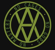 No Cages, No Gods, No Masters by Herbivoracle