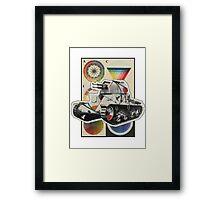 Carro Armato. Framed Print