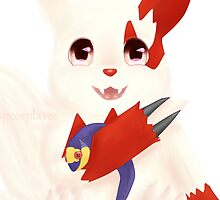 Baby Zangoose by Emily Fellers