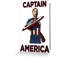 Captain America Clint Dempsey US Men's National Soccer Team Greeting Card