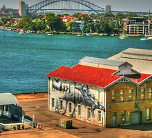 Nice view .. Cockatoo Island Art by Michael Matthews
