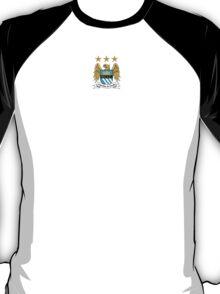 Manchester City F.C Logo Crest T-Shirt