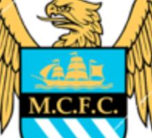 Manchester City F.C Logo Crest Sticker