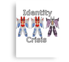 Starscream Identity Crisis Canvas Print