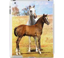 Arabian Mare & Foal iPad Case/Skin