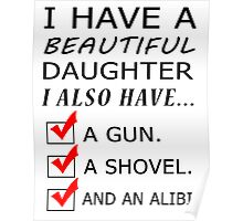 beautiful daughter Poster