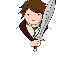 Bilbo the Hobbit by mark-der-mensch