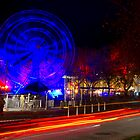 Wheel of Death street scene - Dark Mofo 2014 by clickedbynic