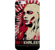 Obey Khaleesi iPhone Case/Skin
