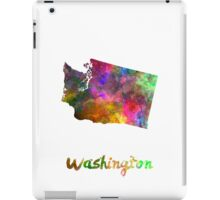Washington US state in watercolor iPad Case/Skin