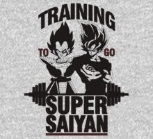 Training to go Super Saiyan v2 Kids Clothes