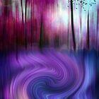 Fantasy Forest by Angela Bruno